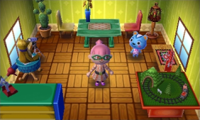 Animal Crossing: Jump Out screenshot
